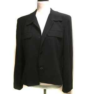 Jones New York Black Jacket Size 10